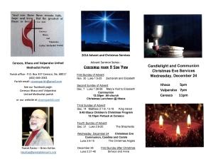 Parish Brochure - Nov-Dec 2014 Page 1