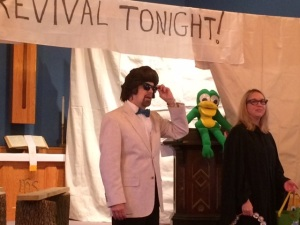 Brother Love, Jack Legg Frog & Sister Jen