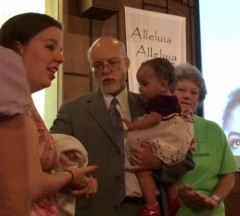 Baptism of Breanna Killin and daughter Miracle Killin-Trevino