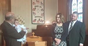 Baptism of Madison Rezac