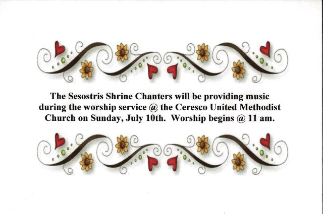 Sesostris Shrine Chanters